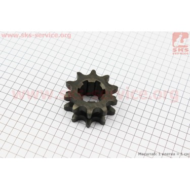 Звезда двухрядная 630-10T-2 d=34мм [Китай]