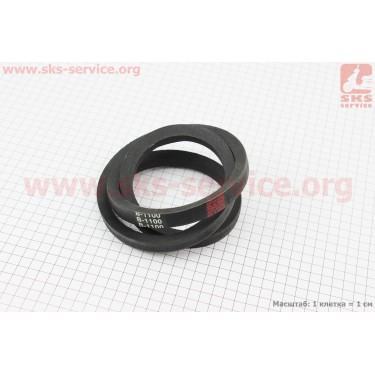 Ремень вентилятора SPB-1100 [Китай]