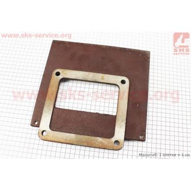 Пластина крепления радиатора чугунная ZS1100/ZH1105 [Viper]