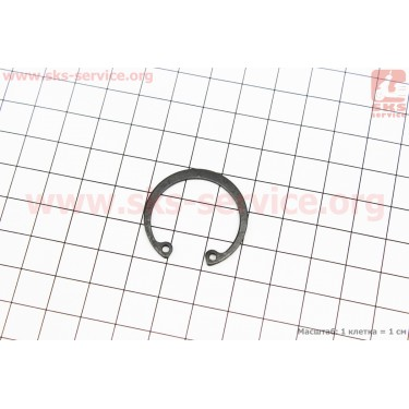 Кольцо ст. пальца поршня d=28мм (GB893.1-86) [Китай]