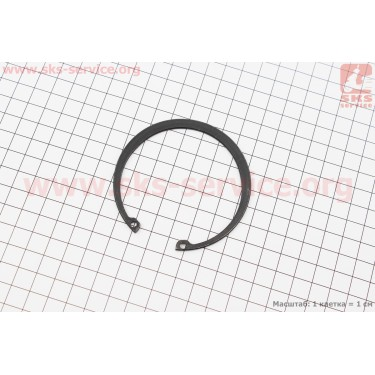 Кольцо стопорное 72 для отверстия (GB93.1-86) [Китай]