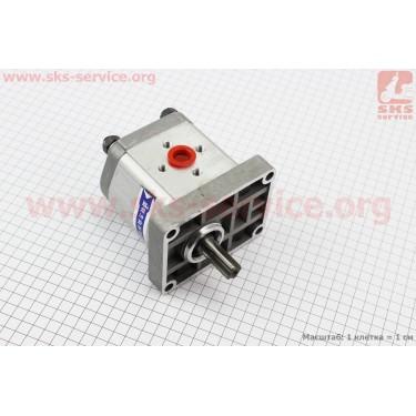 Насос шестеренчатый - 314 левый, боковой выход, шлиц DongFeng 354 (CBN-E314L) [Китай]