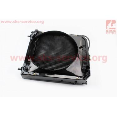 Радиатор DongFeng 404 (404B.13.013-2) [Китай]