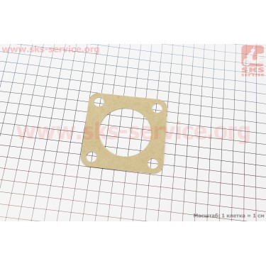 Прокладка глушителя DongFeng 240/244 (300.22.101) [Китай]