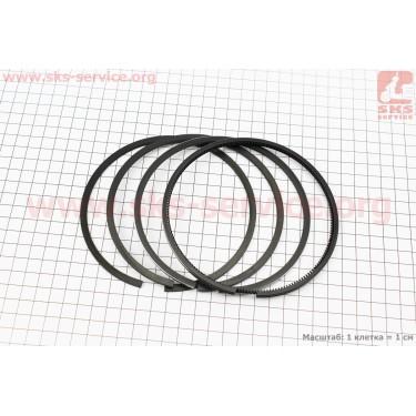 Кольца поршневые к-кт на 1 поршень D=122мм KM130/138 [Китай]