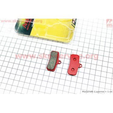 Тормозные колодки диск. тормоз к-кт (Shimano Saint 2009, zee), YL-1039 [Andson]