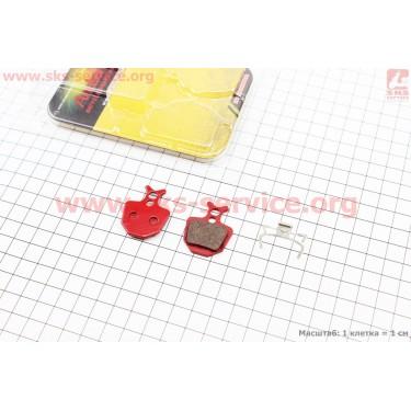 Тормозные колодки диск. тормоз к-кт (Formula Oro Hydraulic), YL-1027 [Andson]