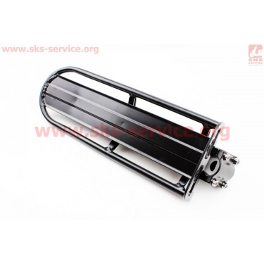 """Багажник 24 - 26"""" алюминий консольный, крепл. за трубу сидения, черный [Китай]"""