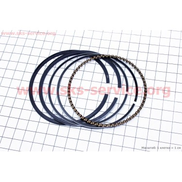 Кольца поршневые 177F 77мм STD [Китай]