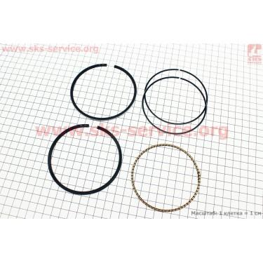 Кольца поршневые 190F 90мм +0,25