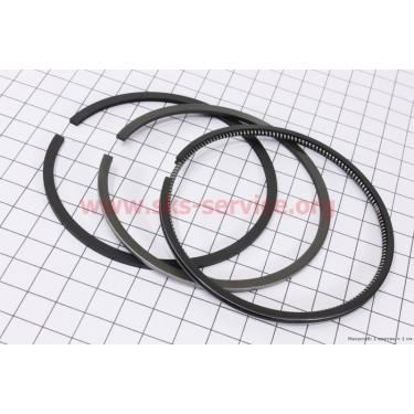 Кольца поршневые 186F 86мм STD [Китай]