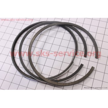 Кольца поршневые 178F 78мм +0,50 [Китай]
