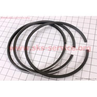 Кольца поршневые 186F 86мм +0,25 [Китай]