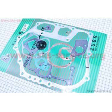 Прокладки двигателя 186F ZUBR к-кт 11шт [Viper]