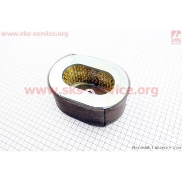 Фильтр воздушный - элемент бумажный 70х145х100мм (для генератора 4-6кВт) 186F [Китай]