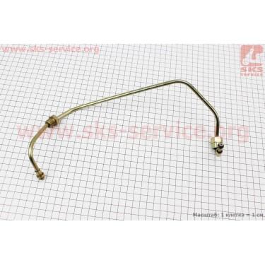 Трубка топливная (метал) 186F Тип №3 [Китай]