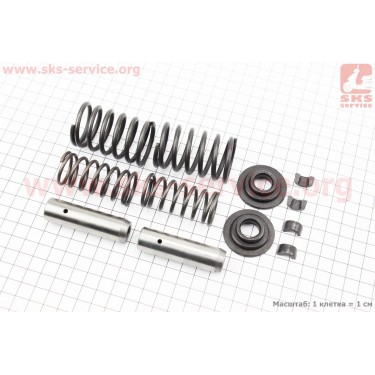Клапанный механизм к-кт ZS1100 [Китай]