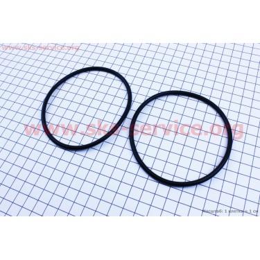 Кольцо (манжет) уплотнительное гильзы к-кт 2шт, черные R195NM [Китай]