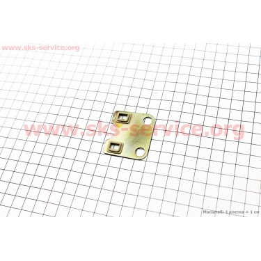 Пластина направляющая штанг 168F/170F [Китай]