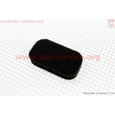 Фильтр воздушный - элемент (поролон 130х75х25мм) для генератора 2-3,5кВт 168F/170F [Китай]