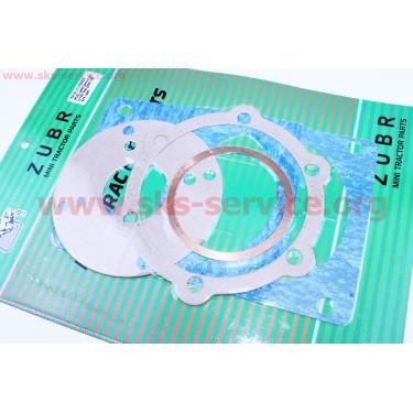 Прокладки КПП + прокладка головки цилиндров к-кт 186F [Viper]