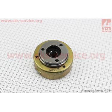 Ротор магнето (на 6 катушек) с обгонной муфтой