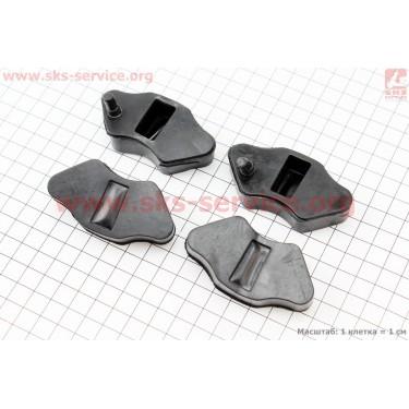 Демпферная резинка заднего спицованного колеса (к-кт 4шт)
