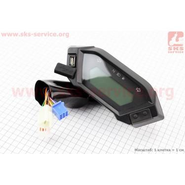 Loncin- LX250GY-3 Спидометр в сборе [Китай]