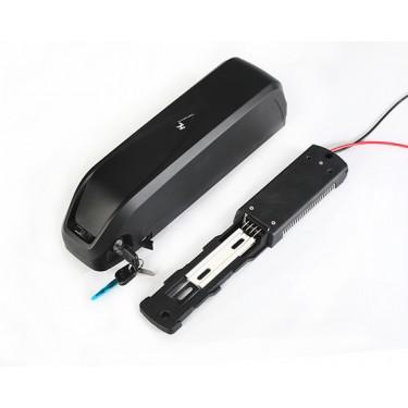 Литий ионный аккумулятор 36v 13Ah USB, на раму для электровелосипеда
