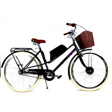 Электровелосипед Дорожник Комфорт открытая рама 28 колесо 36В 350Вт 10Ач планетарная втулка на 3 скорости
