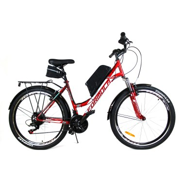 Электровелосипед OMEGA 26 колесо 350Вт 10Ач литий ионный аккумулятор