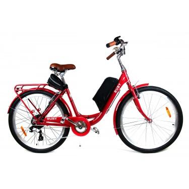 Электровелосипед RUBY колесо 26 дюймов 36В 350Вт 8Ач литий ионный аккумулятор