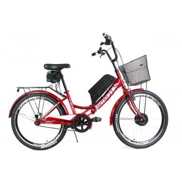 Электровелосипед складной Formula SMART 24 колесо 36В 350Вт 8Ач литий ионный аккумулятор