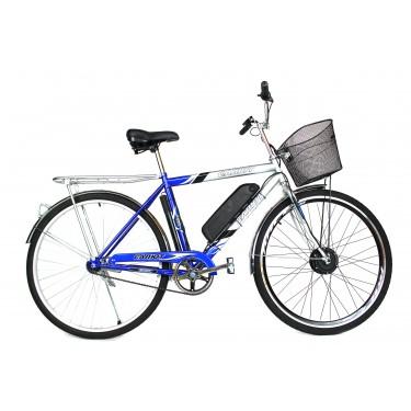 Электровелосипед Салют 28 колесо 36В 350Вт 8Ач литий ионный аккумулятор