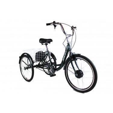 Трёхколесный Электровелосипед СARGO CITY BIKE литий ионный АКБ с корзиной