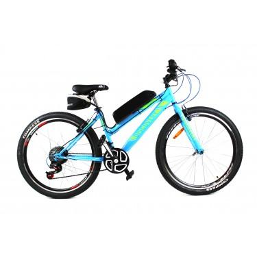 Электровелосипед Formula Woman 26 колесо 36В 350Вт 8Ач литий ионный аккумулятор