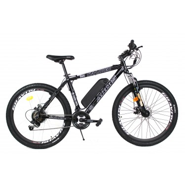 Электровелосипед A1 KALIBER 26 колесо 36В 350Вт 13Ач с LCD пультом управления черный