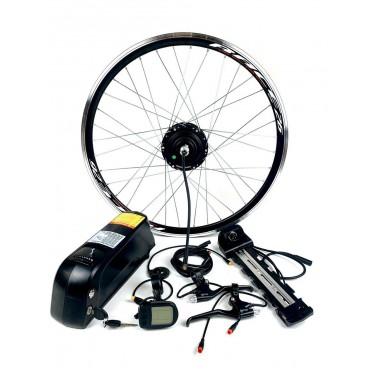 Электронабор с мотор колесом 36V 500W 16А с LCD комплект передний задний редукторный