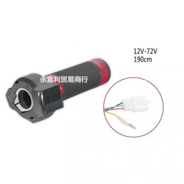 Ручка газа FARAD скутерная 12V 24V 36V 48V 60V 72V (В) вольт c цифровой индикацией