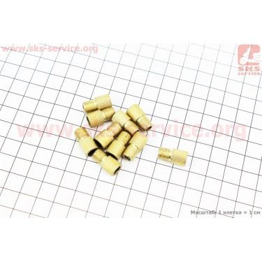 Переходник шланга насоса с резинкой (золотник-нипель) 10шт. к-кт [Китай]
