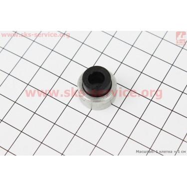 Шайба форсунки уплотнительная (алюм.+пластик) 7,10x16,80x13,40мм ZUBR [Китай]
