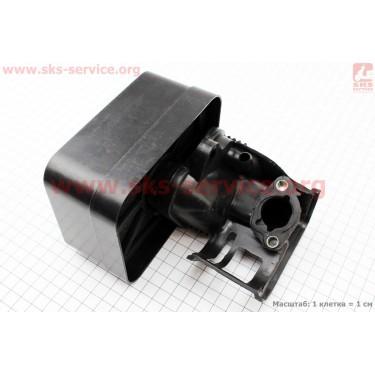 Фильтр воздушный в сборе с поролоном 168F/170F [Китай]