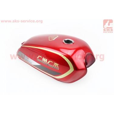 Бак топливный КРАСНЫЙ на Alpha (Альфа, Alfa, Lux) Китай