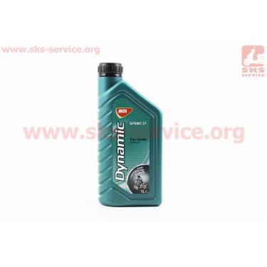 2T Sprint - масло полусинтетическое для 2-х тактных двигателей, 1л [MOL-Dynamic]