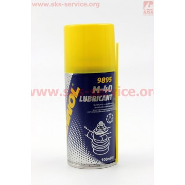 M40 - Проникающая смазка (аналог WD-40) Аэрозоль 100ml [MANNOL]