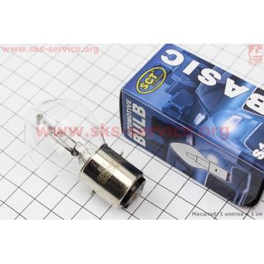Лампа фары B35 12V 25/25W BA20D [SCT]