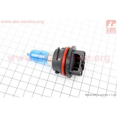 Лампа фары PH11 12V 40/40W (AF35/48) пластмасс. цоколь, синяя [Китай]