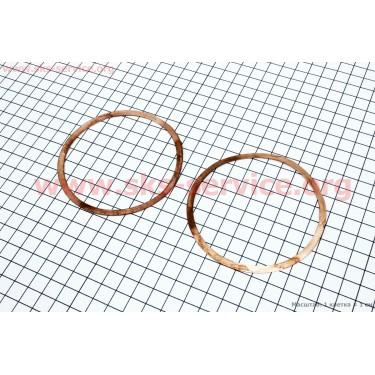 Прокладка головки цилиндра (медная) к-кт 2шт МТ