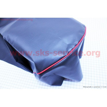 Чехол сиденья с красной каемкой