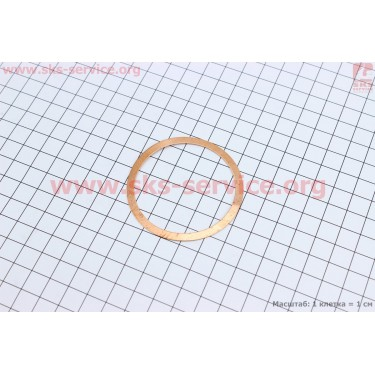 Прокладка головки цилиндра (медная)